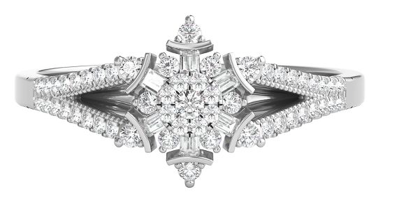 Princess Elsa inspired Helzberg Diamonds engagement ring