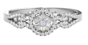 Tinker Bell inspired Helzberg Diamonds engagement ring