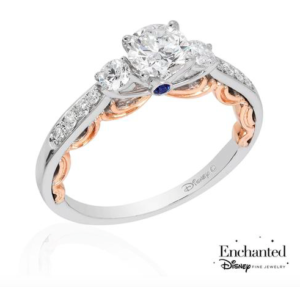 Princess Cinderella inspired Reeds Jewelers engagement ring