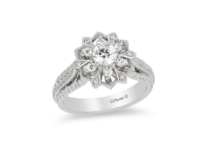 Princess Elsa inspired Zales engagement ring