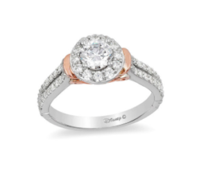 Cinderella inspired Zales engagement ring