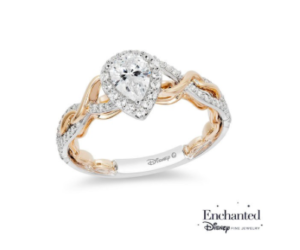 Rapunzel inspired Zales engagement ring