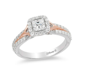 Sleeping Beauty inspired Zales engagement ring