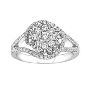 Princess Elsa inspired Fred Meyers engagement ring