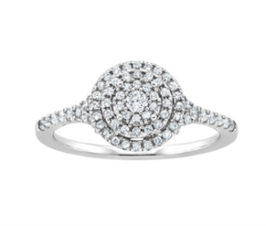 Cinderella inspired Fred Meyers Jewelers engagement ring