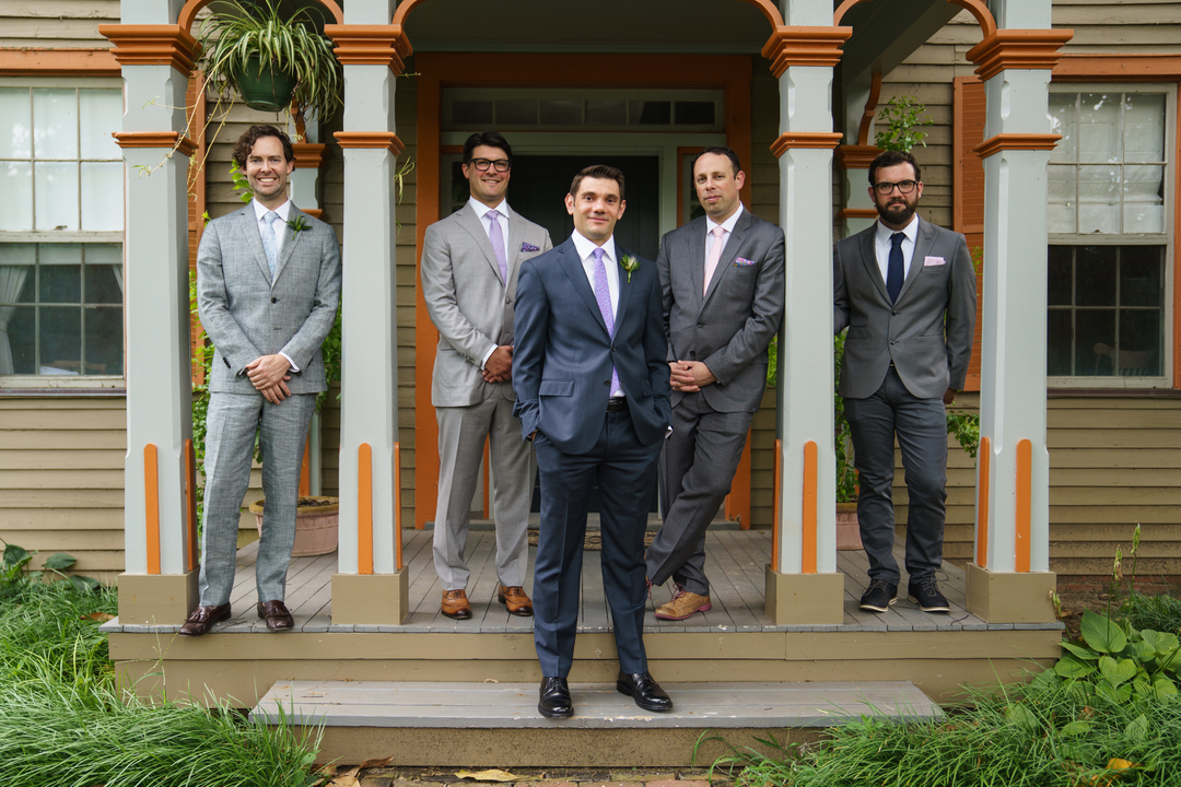 how to select your bridal party groomsmen